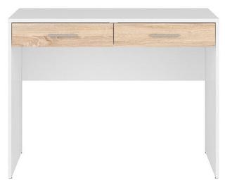 Письменный стол Black Red White Nepo Plus White/Sonoma Oak