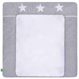 Lulando Changing Table Mat White Dots/Stars 75x80cm