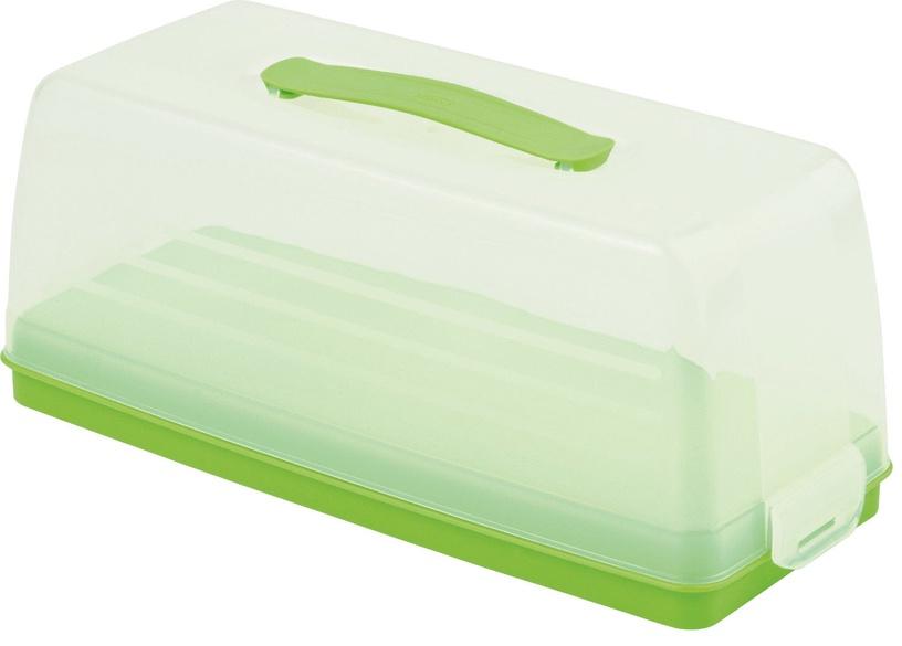 Curver Cake Transporting Box Rectangular Green