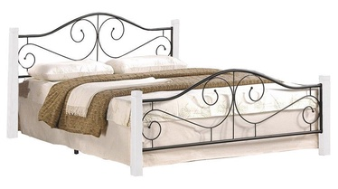 Halmar Bed Violetta 123x205cm White/Black