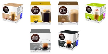 Nescafe Dolce Gusto Set of 6 Flavors