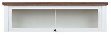 Black Red White Kalio Hanging Display Cabinet White