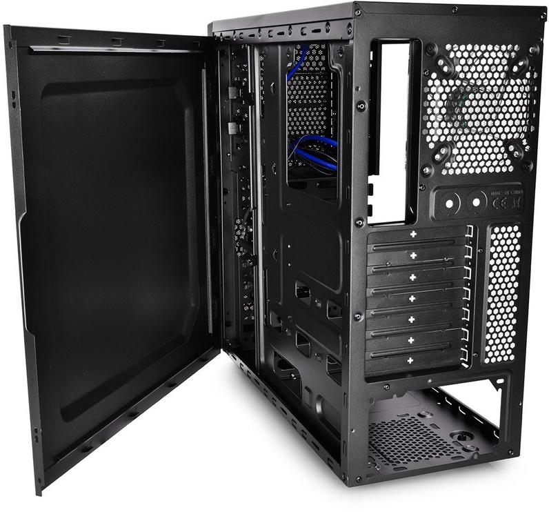 Deepcool Tesseract Middle-Tower ATX w/Side Window Black DP-CCATX-TSRBKBL