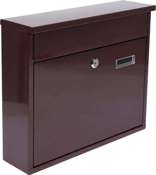 Vorel 78577 Mailbox 360x310x100mm Brown