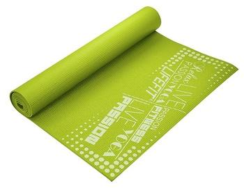 Lifefit Yoga Mat 1730x610x4mm Green
