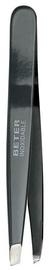 Beter Enamelled Stainless Steel Slanted Tip Tweezers 9.7cm