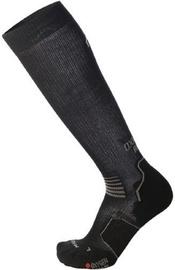 Mico Long Light Running Sock Oxi-Jet Black/Grey 41-43