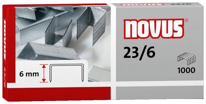 Novus Staples 1000pcs Nr.23/6