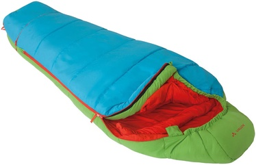 Magamiskott Vaude Junior Dreamer Adjust 350 S Green/Blue, parem, 170 cm