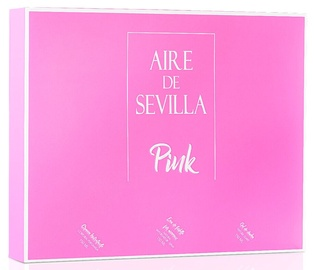 Komplekt naistele Instituto Español Aire De Sevilla Pink 3pcs Set 450 ml EDT