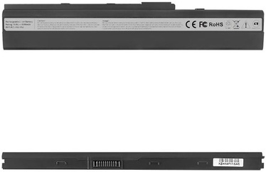 Qoltec Long Life Notebook Battery For Asus A32-K52 X42 5200mAh