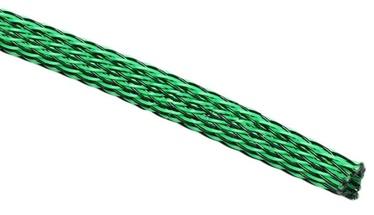 Techflex Flexo PET Sleeve 6mm Green/Black 1m