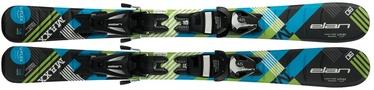 Elan Skis Alpine Skis Maxx QS EL 4.5/7.5 Black/Blue 140cm