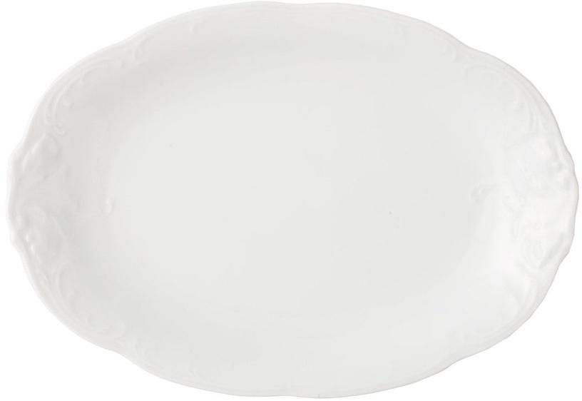 Porcelana Krzysztof Fryderyka Oval Plate 24cm