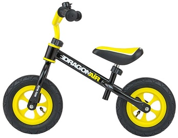 Lastejalgratas Milly Mally Dragon Air Balance Bike Black 2756