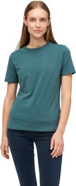 Audimas Womens Stretch Cotton T-shirt Mallard Green M