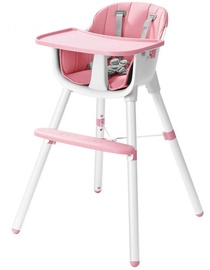 EcoToys Feeding 2in1 Chair Pink/White