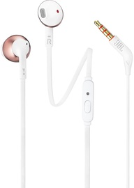JBL T205 Earbuds Rose Gold