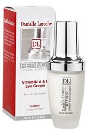 Крем для глаз Danielle Laroche Vitamin A & E Retinol, 30 мл