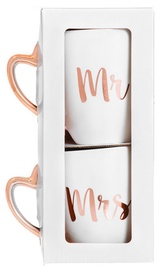 Verners Mrs&Mr Cup White 2pcs