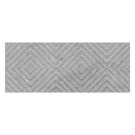 Geotiles Kent Wall Tiles 300x900mm Grey/Pattern
