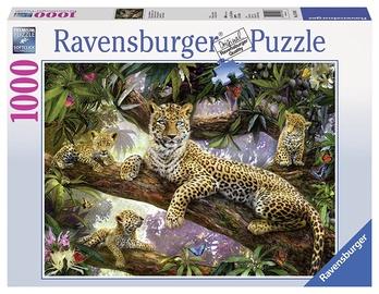 Ravensburger Puzzle Leopard Family 1000pcs
