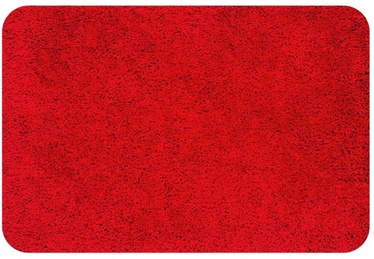 Spirella Highland Bathroom Rug Red