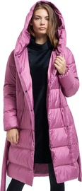 Audimas Lightweight Long Down Jacket Pink XL