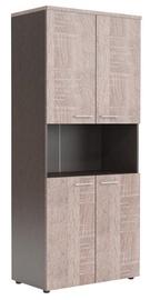 Skyland XTEN Office Cabinet XHC 85.4 Sonoma Oak/Legno Dark