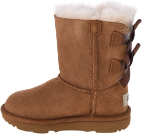 UGG Kids Bailey Bow II Boot 1017394T-CHE Chestnut 30