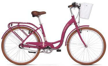 """Jalgratas Legrand Lille 3 M Pink Beige, 26"""""""