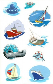 Herlitz Stickers Ships