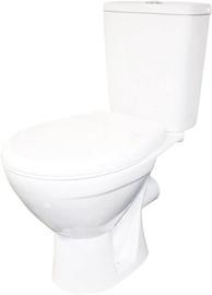 WC-pott Rosa Solo, kaanega, 350x610 mm