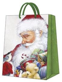 Paw Decor Collection Gift Bag Loving Santa 26.5x33.5x13cm