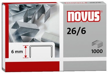 Novus Staples 1000pcs Nr.26/6