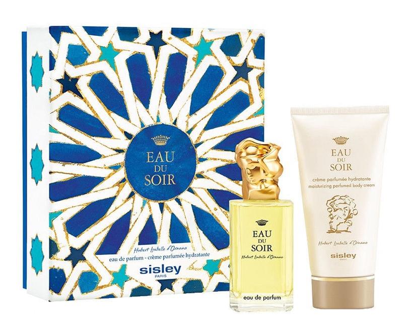 Sisley Eau du Soir 100ml EDP + 150ml Body Cream New Design
