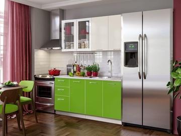 MN Fortune Kitchen Unit 2m Olive