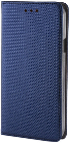 GreenGo Smart Magnet Book Case For Samsung Galaxy A9 Navy Blue