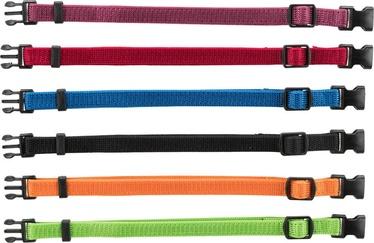 Kaelarihm Trixie Junior, sinine/must/punane/roheline/oranž/roosa, 350 mm