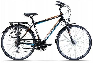 "Велосипед Monteria Trip M2 Black/Orange/Blue 2020, 21"", 28″"
