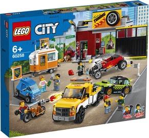 Konstr lego city 60258 parandus töökoda
