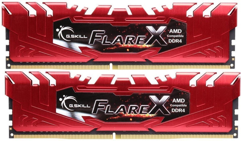 G.SKILL FlareX 16GB 2400MHz CL15 DDR4 DIMM KIT OF 2 F4-2400C15D-16GFXR