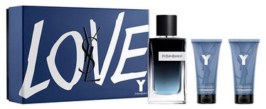 Набор для мужчин Yves Saint Laurent Y 100 ml EDP + 50 ml After Shave Balm + 50 ml Shower Gel