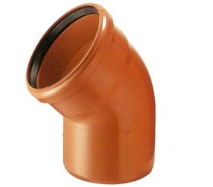 Nurk PVC 110x45° oranž