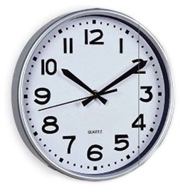 SN Quartz Wall Clock D25cm White