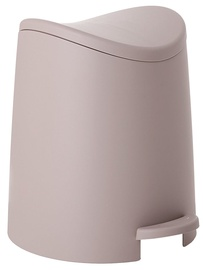 Tatay Bathroom Pedal Bin 3l Standard Brown