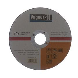 Lõikeketas Vagner 125x1.6x22.23mm, Inox