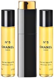Chanel No.5 3x20ml EDT Travel Spray