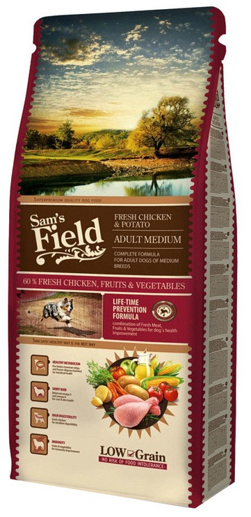 Sam's Field Adult Medium Chicken and Potato 13kg
