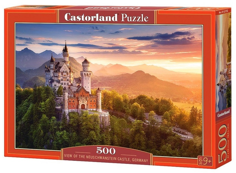 Castorland Puzzle View Of The Neuschwanstein Castle Germany 500pcs